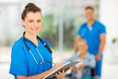 Young medical doctor stock images