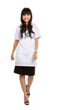 Young medical doctor walking Stock Images