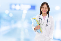 Young medical doctor woman. Stock Image