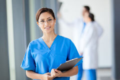 Young medical intern Stock Photos