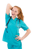 Young medical trainee Stock Photography