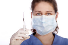 Young medical worker Stock Photography