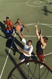 Young Men Playing Basket Ball Royalty Free Stock Photos
