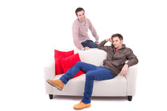 Young men posing Royalty Free Stock Photos