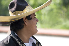 Young Mexican Cowboy Stock Photo