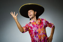 The young mexican man Royalty Free Stock Photo