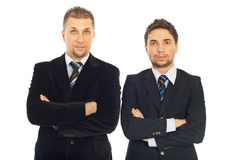 Young and mid adult business men Stock Image