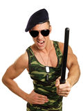Young military man Stock Photo