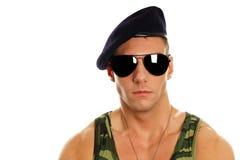 Young military man Stock Photos