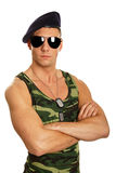 Young military man Royalty Free Stock Photo