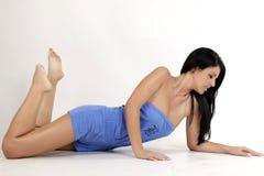 Young model. Posing in studio Stock Image