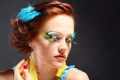 Young model beautiful women Royalty Free Stock Image