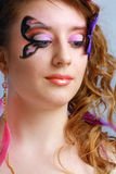Young model beauty women Royalty Free Stock Image