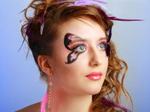 Young model beauty women Royalty Free Stock Photos