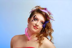 Young model beauty women Stock Photo
