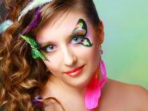 Young model beauty women Stock Photos