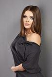 Young model posing fashion Royalty Free Stock Photos