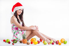Fruit for Christmas Royalty Free Stock Image