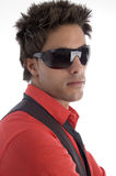 Young model with sunglasses Stock Image