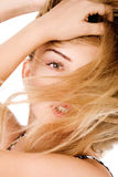 Young Model With Beautiful Hair Stock Image