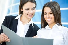 Young modern businesswomen Royalty Free Stock Image