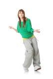 Young modern dancer Royalty Free Stock Photos