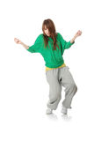 Young modern dancer Stock Photo