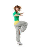 Young modern dancer Royalty Free Stock Photography