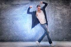 Young modern dancer. Stock Photography
