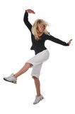 Young modern hip hop dancer Royalty Free Stock Photography
