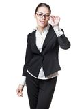 Young modern professional businesswoman Royalty Free Stock Photo