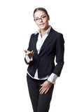 Young modern professional businesswoman Stock Image