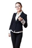 Young modern professional businesswoman Stock Photo