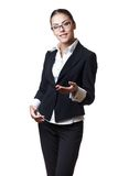 Young modern professional businesswoman Royalty Free Stock Image