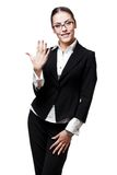 Young modern professional businesswoman Stock Images