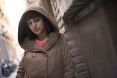 Young modern woman Stock Photos