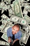 Young moneymaker Royalty Free Stock Photos