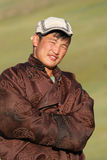 Young mongolian man Stock Image