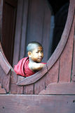 Young monk Stock Images