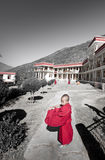 The young monk Royalty Free Stock Photos