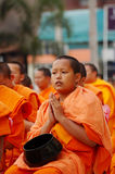 Young monk Stock Photography