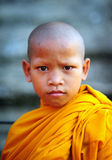 Young monk of Cambodia Royalty Free Stock Images