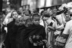Young monk at Mahagandayon Monastery Royalty Free Stock Photography