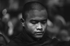 Young monk at Mahagandayon Monastery Stock Image