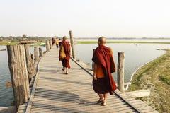 Young monk at Mahagandayon Monastery Stock Photos