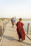Young monk at Mahagandayon Monastery Stock Photo