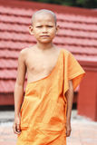 Young monk in wat Leu Royalty Free Stock Images
