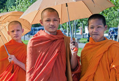 Young Monks Royalty Free Stock Photo