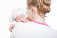 Young mother Royalty Free Stock Photography