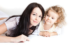 Young mother Royalty Free Stock Photos